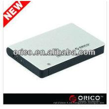 2.5inch SATA hdd recinto con interfaz USB3.0 super velocidad