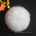 2015 Fashion New Party Accessories Rabbit Fur Ball Hotsale Lovely Genuine 5-10cm Rabbit Real Fur Pompoms