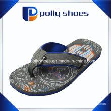 Neue Herren Grau Scuba Flip Flop Synthetische Sandalen Flops