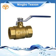 Serrure de gros robinet à tournant sphérique à peu de frais et de qualité