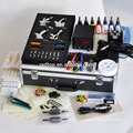 2015 hot selling Top-Quantity Permanent Digital Complete 4 Machine tattoo Kit