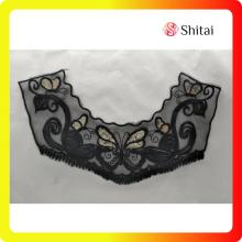 100% Polyester Bordir Collar Lace