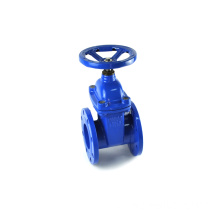 high quality good price DIN3352 F4 new design light DN100 gate valve for life sweage water system