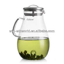 Restaurant Acrylic Glass Alkaline Water Filter Pitcher With SS Lid