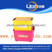 zhejiang plastic storage container mold