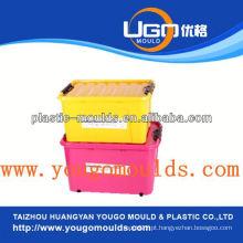 Molde de recipiente de armazenamento de plástico Zhejiang