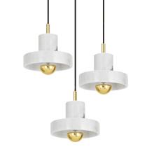 white marble pendant lamp luxury decor chandelier