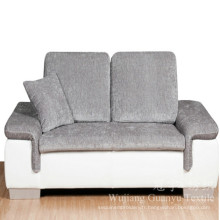 Tissu 100% polyester Linentte pour canapé d'ameublement