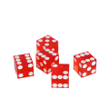 Red 19MM Translucent Casino Craps Dice