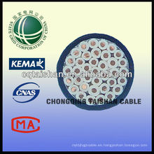 Cable de control del PVC del cobre de la rejilla del estado de Resonable