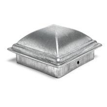 Quality aluminum pyramid post cap ornamental fence post cap
