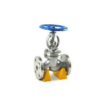 Hot sale din bellow sealed carbon steel high pressure globe valve pn16