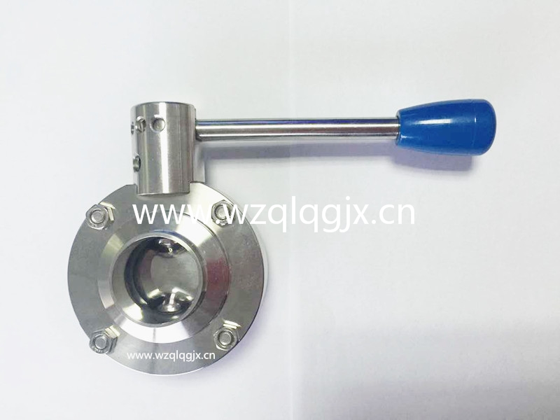 Manual Welded Butterfly Valve