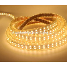 Waterproof IP66 180leds/m Double Row 220V 2835 cuttable Led Strip Light