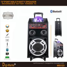 Chramatic Lamp Bluetooth Battery USB / SD Port Power DJ Party Speaker