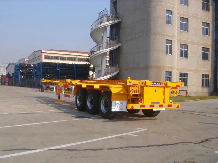 CIMC Tri-Axle Container Trailer