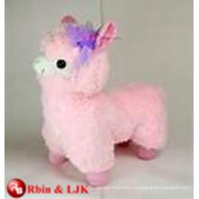 Meet EN71 and ASTM standard ICTI plush toy factory alpaca stuffed