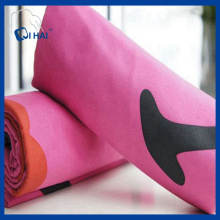 Pink Color Solid Microfiber Quick Dry Towel (QHQ88212)
