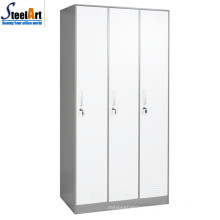 High quality school furniture three door metal almirah design