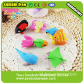 Nowość Design Eraser Ocean Animals Shaped Erasers
