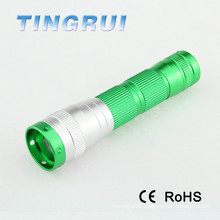 LED Flashlight Mini Rechargeable camping aa 1w led lamp