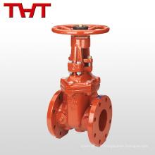 valve de porte de boîte de vitesse de signal de lutte contre l'incendie avec le siège résilient