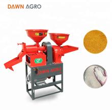 DAWN AGRO Mini molino de arroz combinado y máquina trituradora de uso doméstico en Sri Lanka