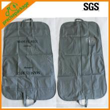 Reciclar saco de roupa peva dobrável com bolso de sapato