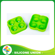 Es Ball Mold -Green Fleksibel Silicone Ice Tray