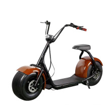 Luvgogo New Arrival CE/EMC big wheels scooters electric with seat