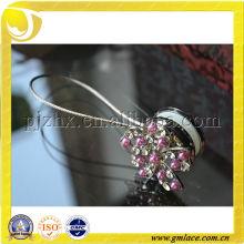 Фиолетовые крючки для занавесок для москитной сетки и декорации для домашнего декорирования