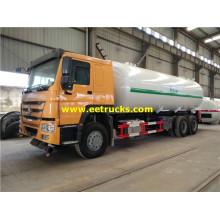 30 CBM HOWO Propano camiones cisterna de carretera