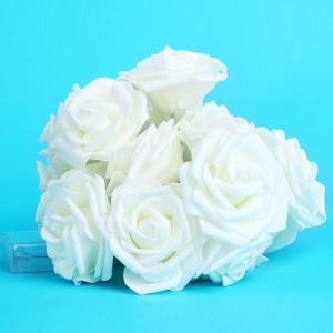 LED Battery String Light Rose Flower