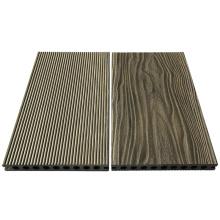 Plancher composé de matériaux de construction de Wpc / plancher extérieur de wpc
