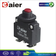 Daier Mini ST-1B Red/Black Button 32VDC With Cabriole Leg Electric Circuit Breaker