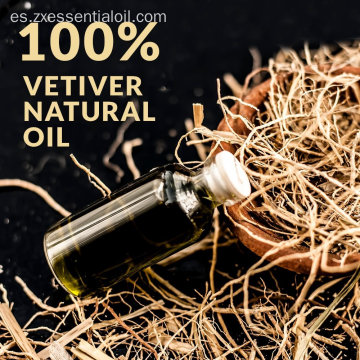 EOM al por mayor 100% Pure Vetiver Oil Bulk