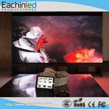 LED Videowand P5 Innen führte Mietschirm DJ-Fassade benutzte geführte Vorhanganzeige