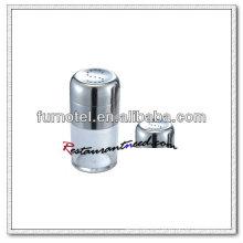 T007 S Shaped Holes Medium Salt & Pepper Shaker