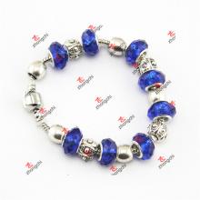 Fashion Blue Color Pendentifs en perles de verre Bracelets Chaînes Bijoux (LDK60226)