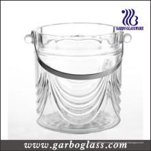 Tanque do refrigerador do vidro de vinho da alta qualidade com punho de aço inoxidável