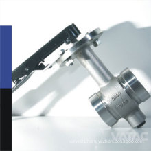 Stainless Steel Lever Clamped / Grooved Butterfly Valve