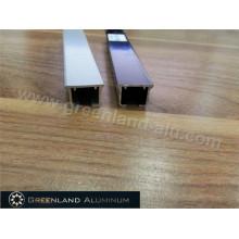 Pista de cortina deslizante de alumínio da venda quente com cores variáveis do revestimento do pó