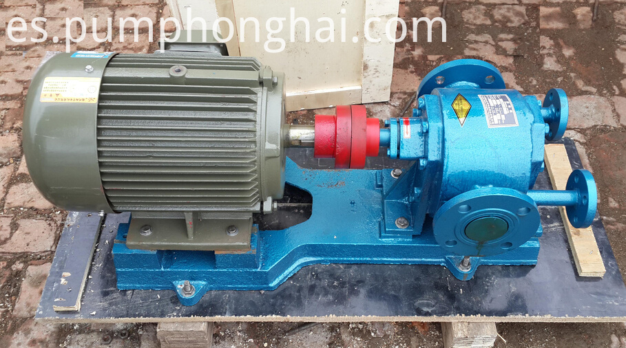 high temperature bitumen transfer gear pump 4
