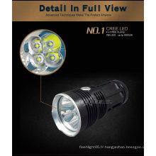 Nouveau pistolet à haute efficacité-004 Lampe à LED lampe torche LED 40W CREE XML2 3500Lm