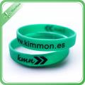 Custom Logo Debossed Printing Promotional Gift Silicone Bracelet