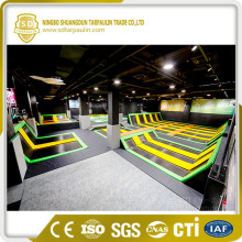 Trampoline High Breaking Strength Tejido recubierto de PVC