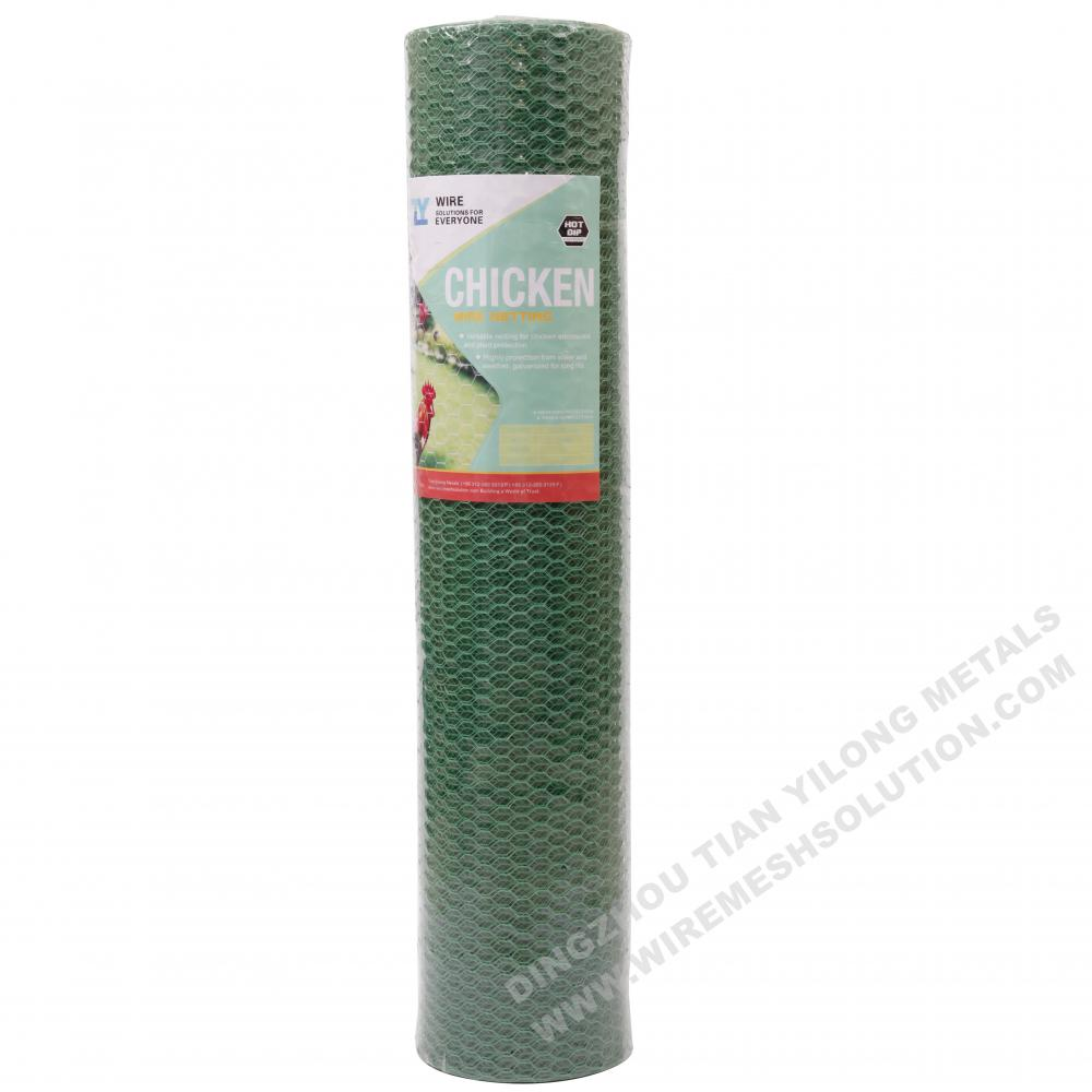 PET Coated Poultry Netting for Japan Market
