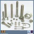 Части повернутые CNC поворачивая стопорную гайку Самостопорящуюся гайку (MQ1049)