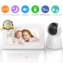 IPS Display Schlaflieder WiFi Remote Babyphone