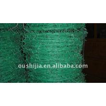 PVC-beschichteter Stacheldraht (Fabrik)